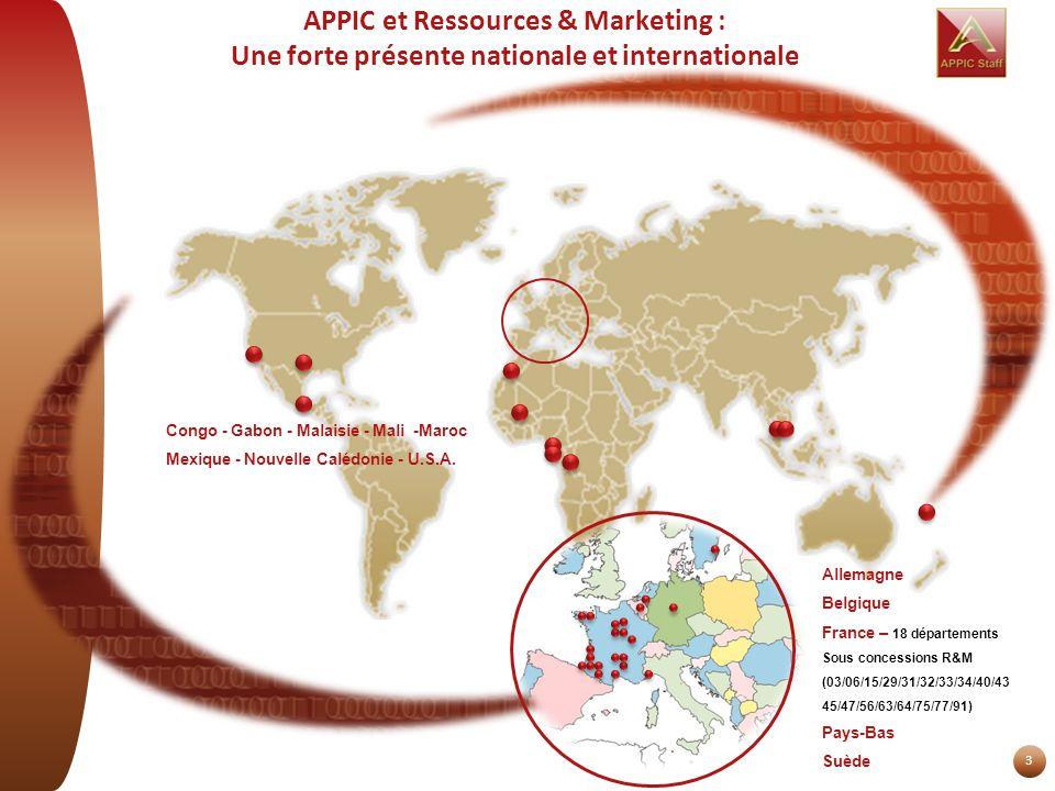 APPIC et Ressources & Marketing : Une forte présente nationale et internationale