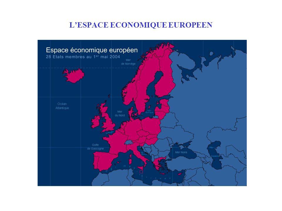 L'ESPACE ECONOMIQUE EUROPEEN