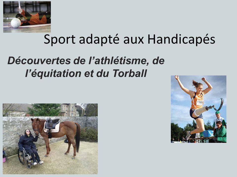 Sport adapté aux Handicapés