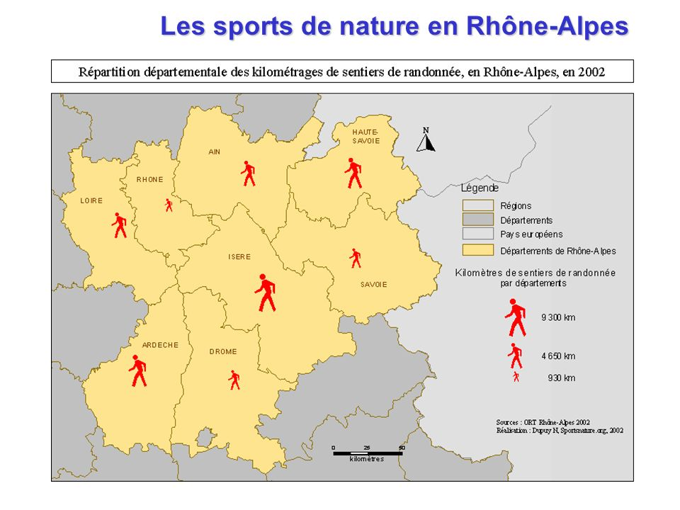 Les sports de nature en Rhône-Alpes