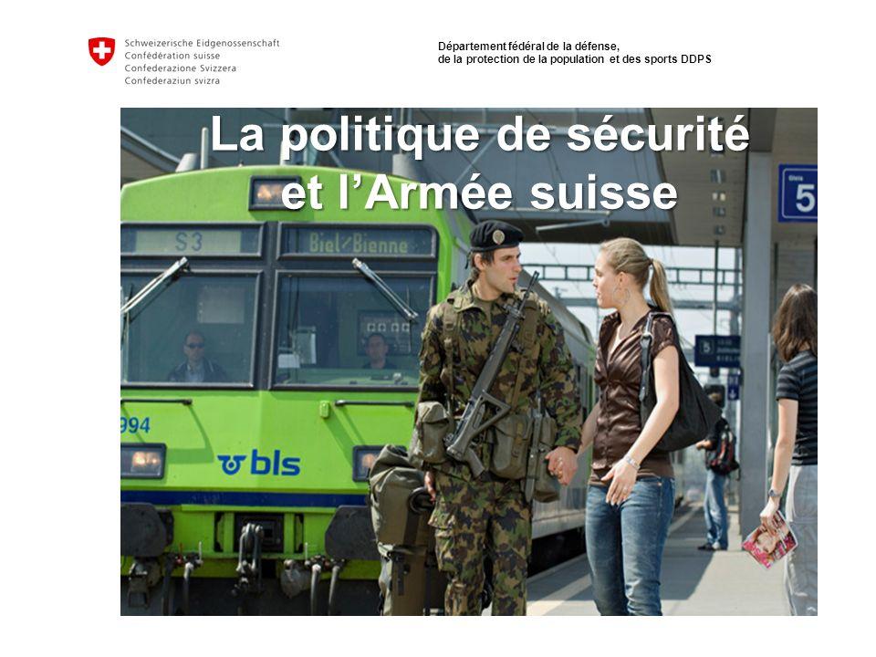 Sicherheitspolitik und Schweizer Armee