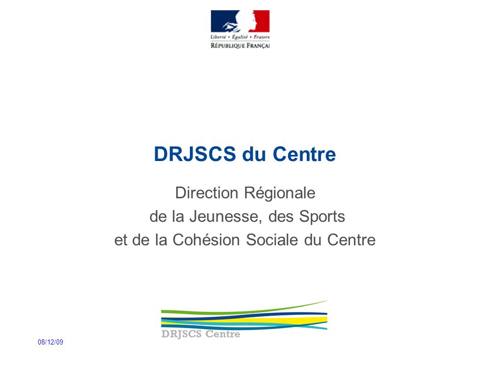 DRJSCS du Centre Direction Régionale de la Jeunesse, des Sports