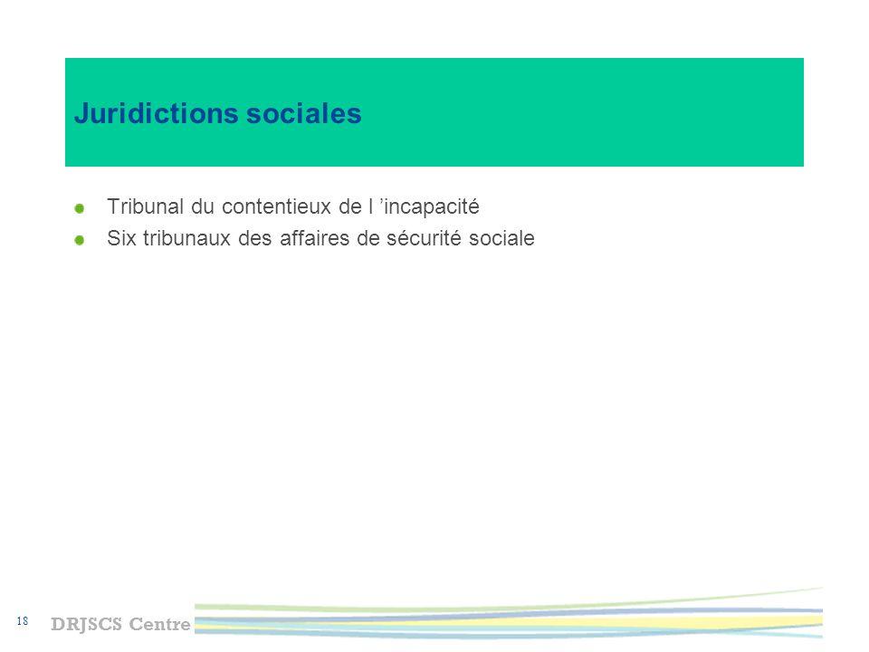 Juridictions sociales