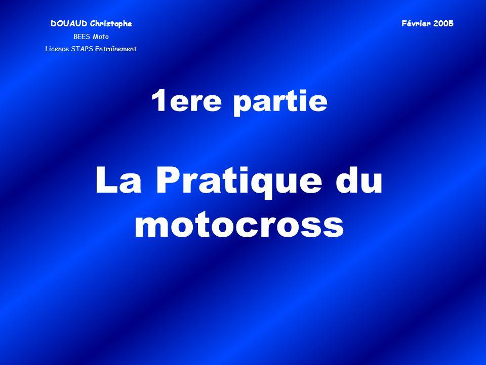 La Pratique du motocross