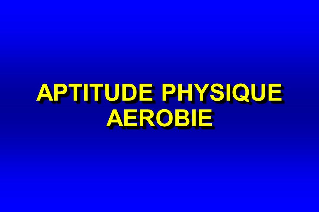 APTITUDE PHYSIQUE AEROBIE
