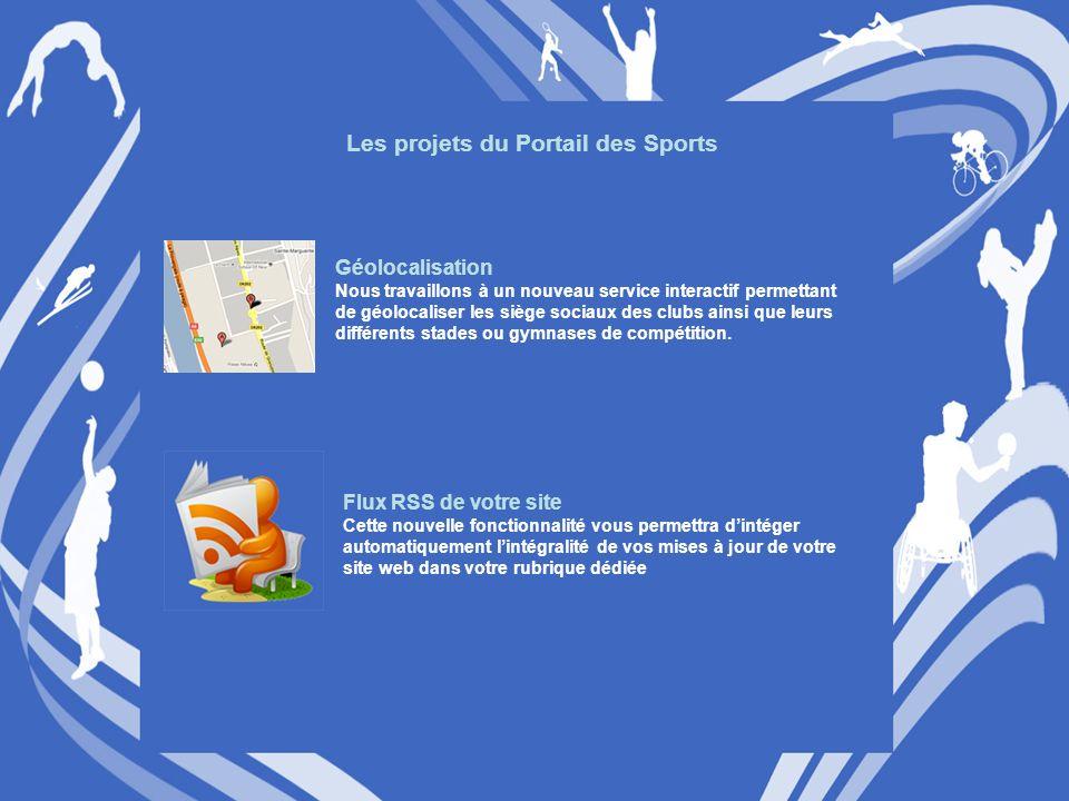 Les projets du Portail des Sports