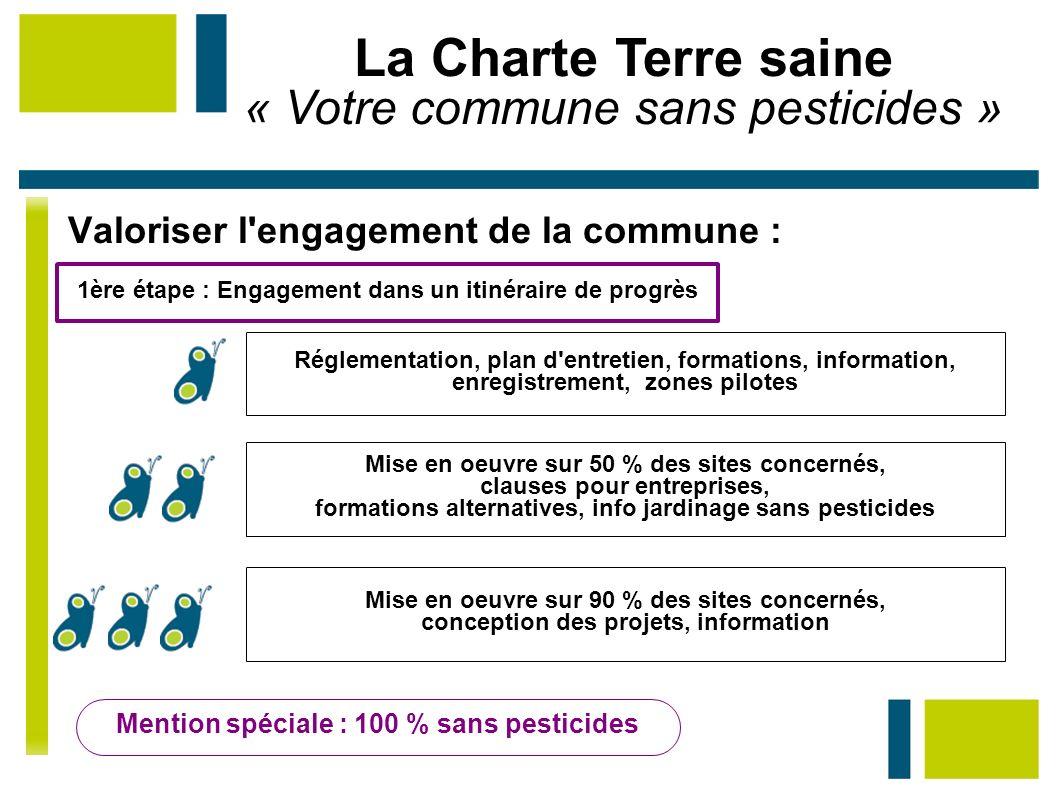 La Charte Terre saine « Votre commune sans pesticides »