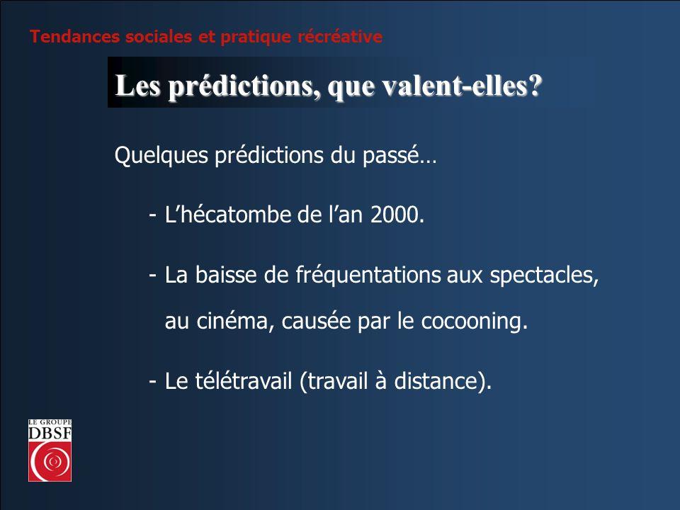 Les prédictions, que valent-elles
