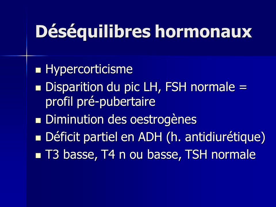 Déséquilibres hormonaux