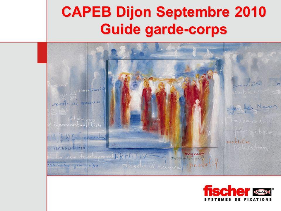 CAPEB Dijon Septembre 2010 Guide garde-corps