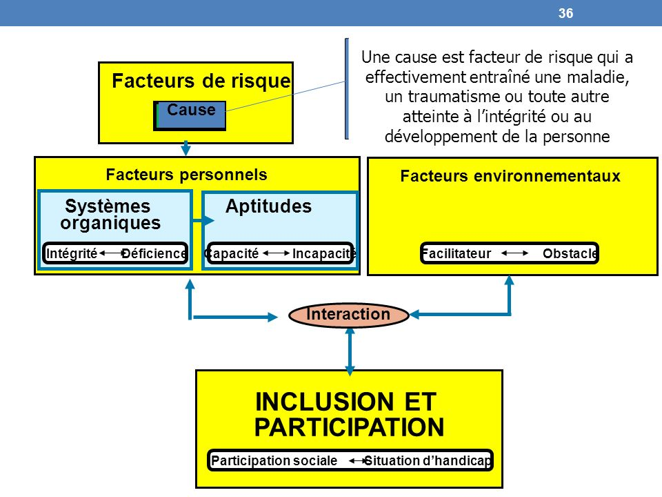 INCLUSION ET PARTICIPATION