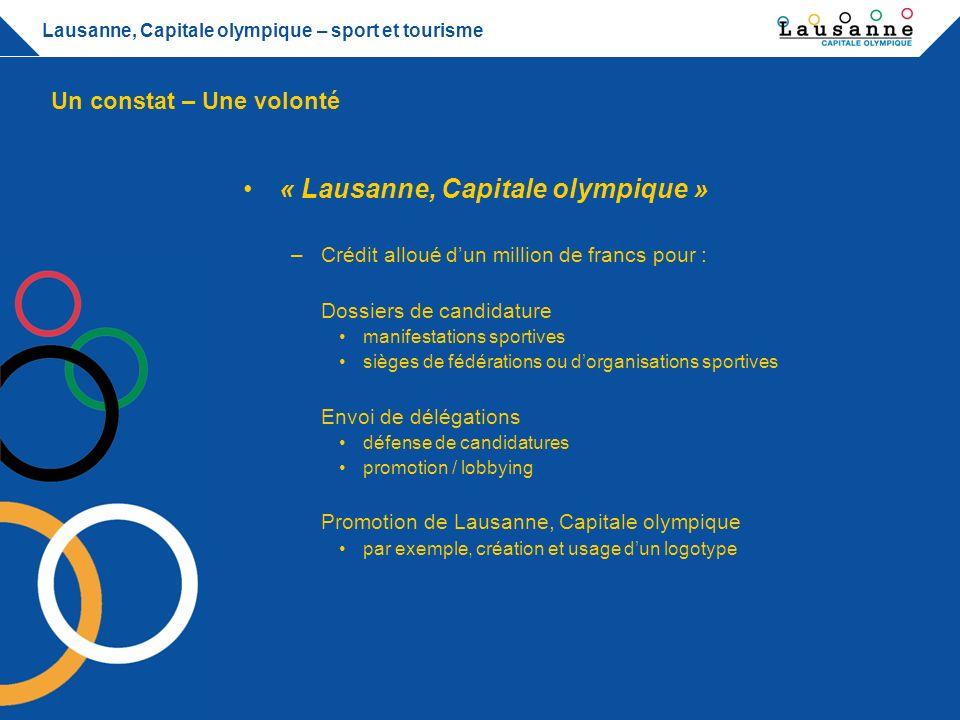 « Lausanne, Capitale olympique »