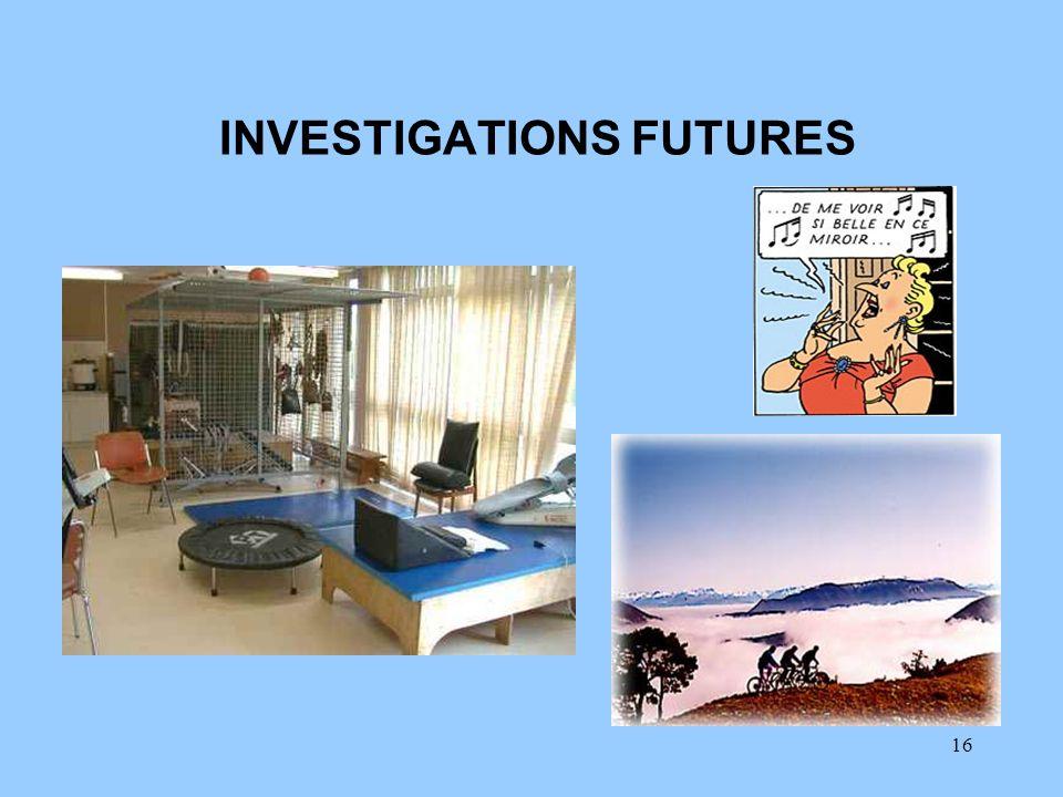 INVESTIGATIONS FUTURES