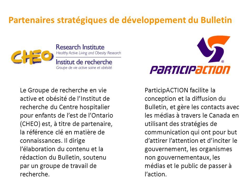 Partenaires stratégiques de développement du Bulletin
