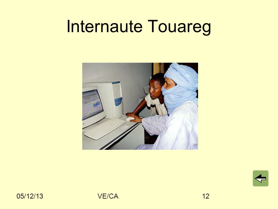 Internaute Touareg 05/12/13 VE/CA