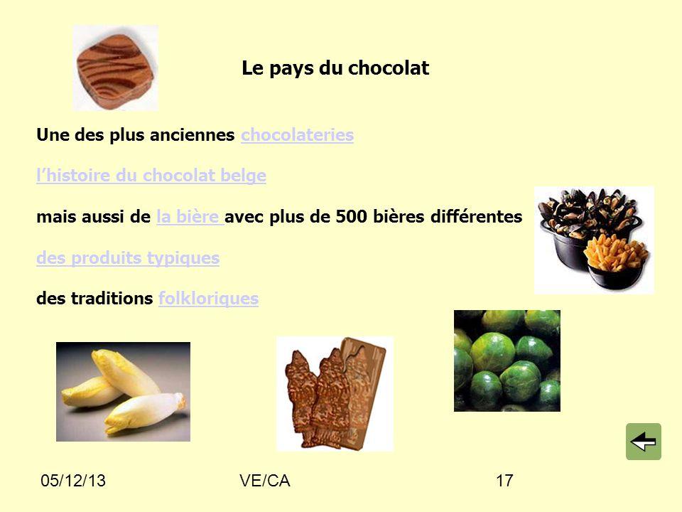 Le pays du chocolat Une des plus anciennes chocolateries