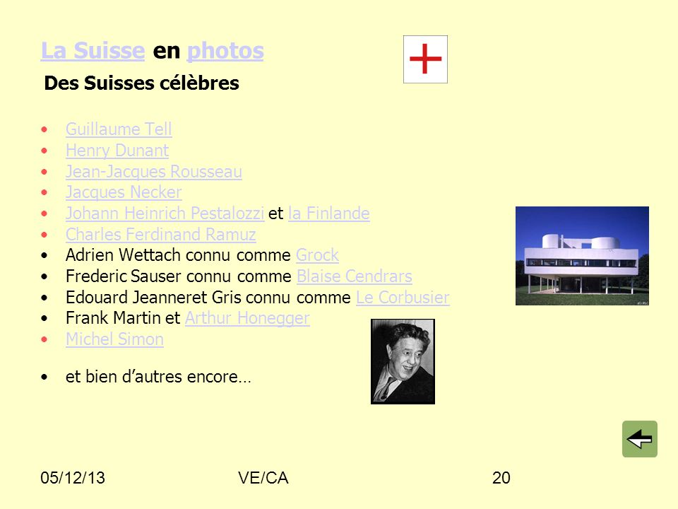 La Suisse en photos Des Suisses célèbres Guillaume Tell Henry Dunant