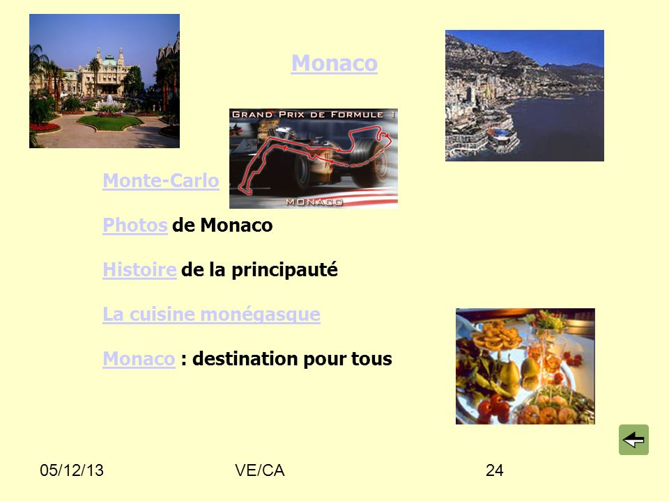 Monaco Monte-Carlo Photos de Monaco Histoire de la principauté