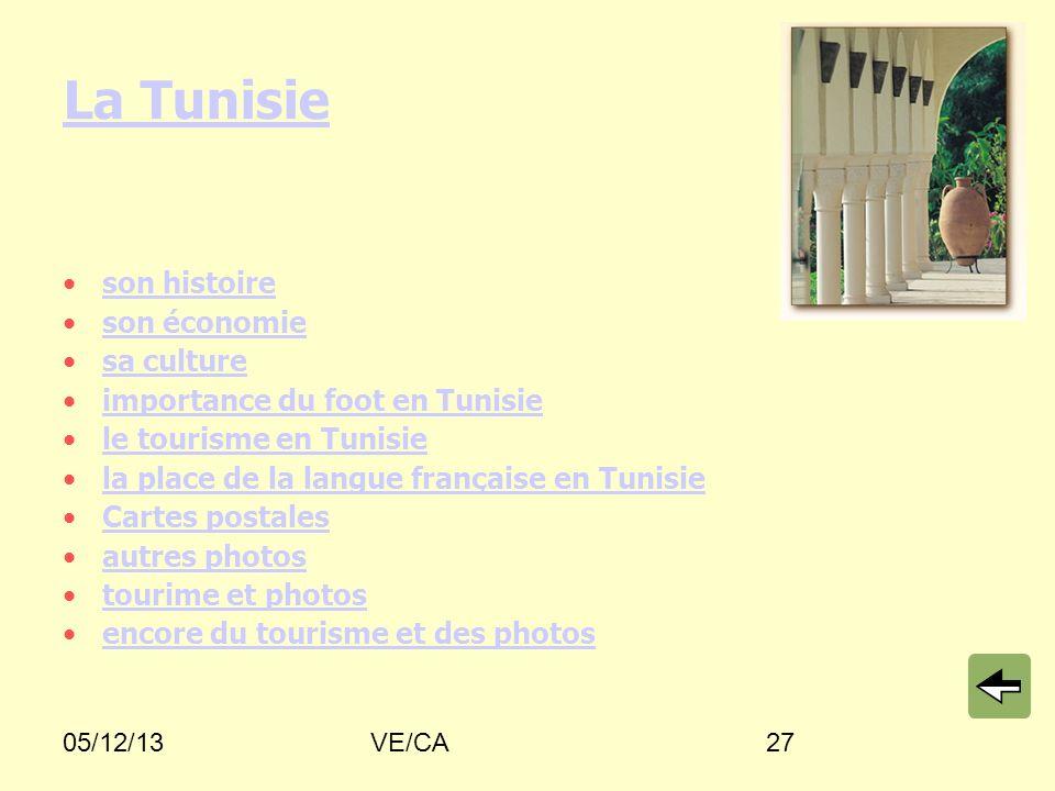 La Tunisie son histoire son économie sa culture