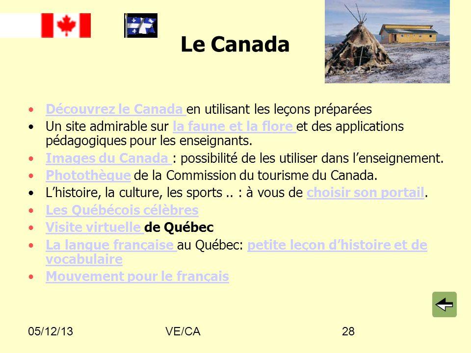 Le Canada Découvrez le Canada en utilisant les leçons préparées