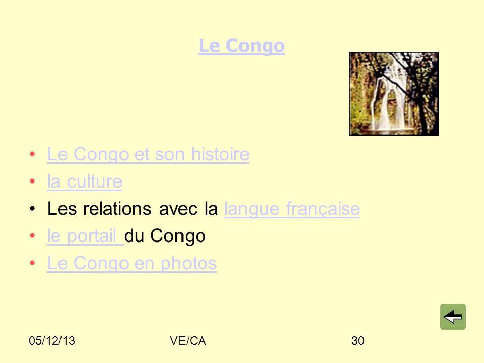 Le Congo et son histoire la culture