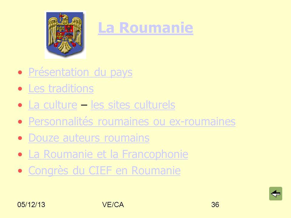 La Roumanie Présentation du pays Les traditions