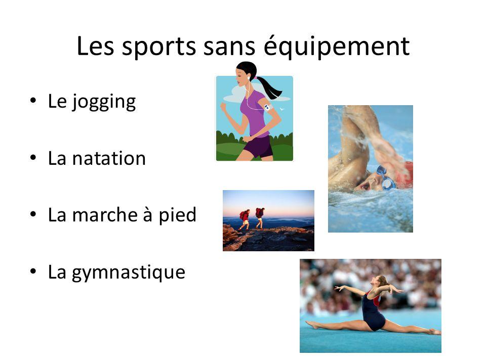 Les sports sans équipement