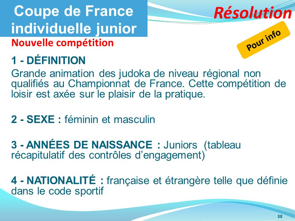 Coupe de France individuelle junior