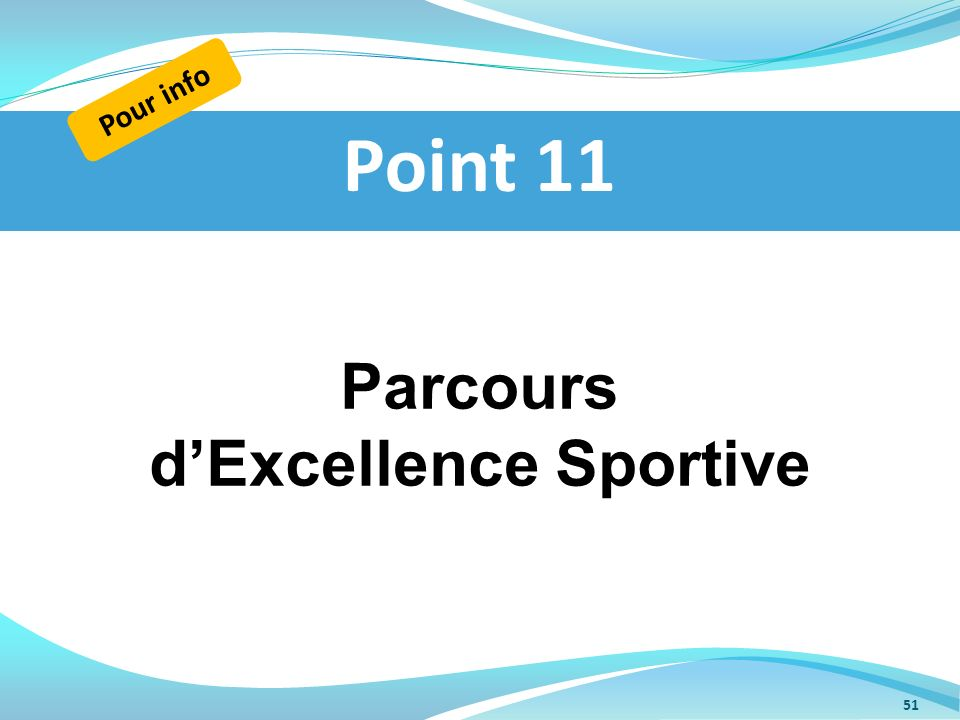 d'Excellence Sportive
