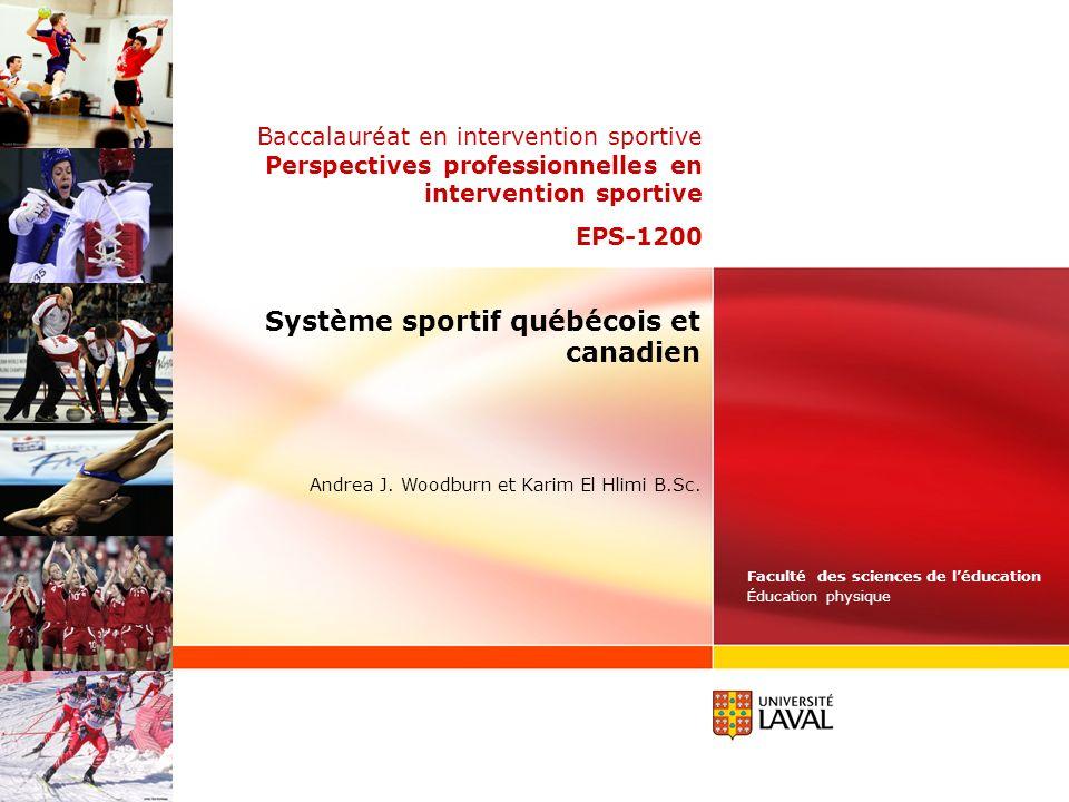 Système sportif québécois et canadien