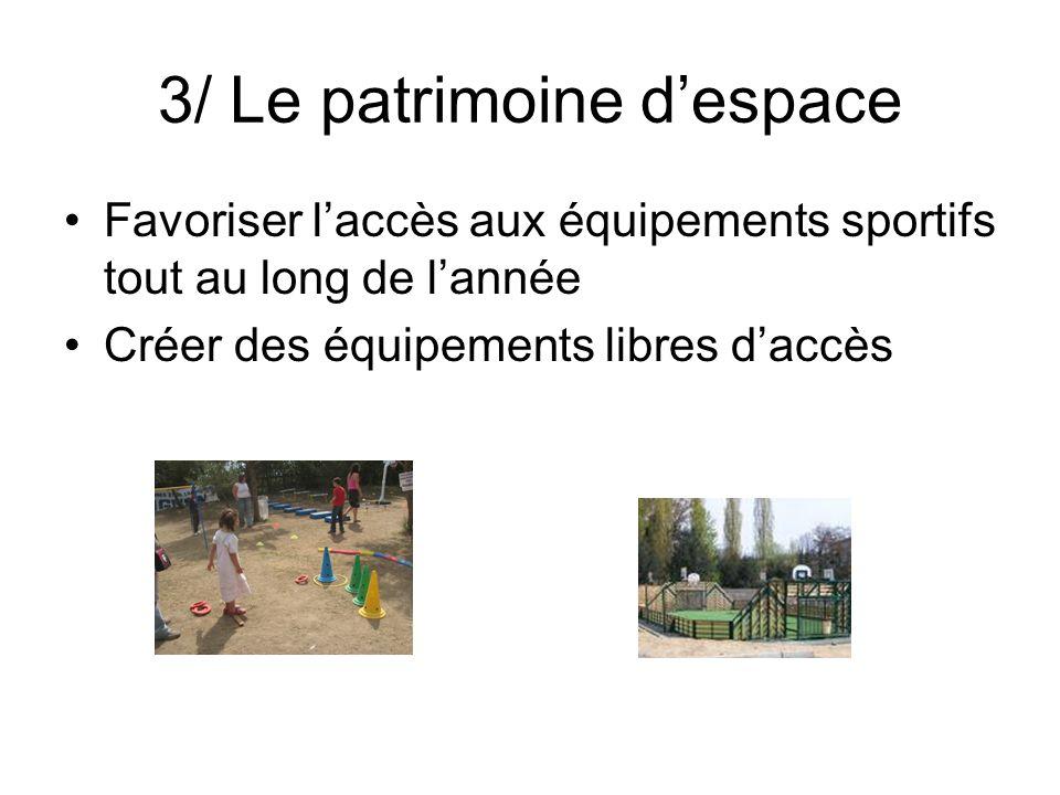 3/ Le patrimoine d'espace