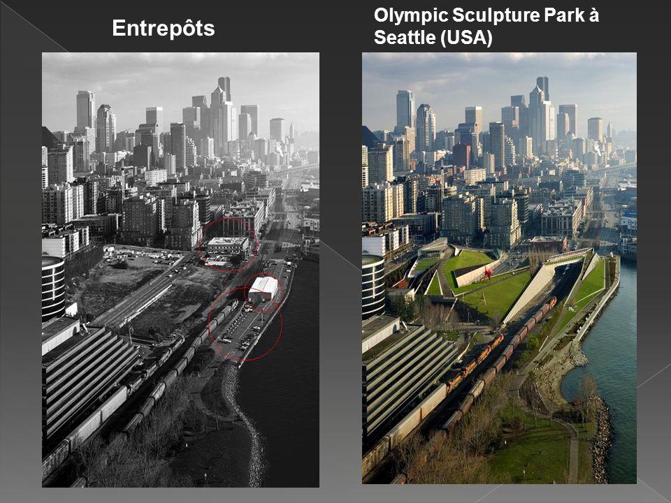 Olympic Sculpture Park à Seattle (USA)