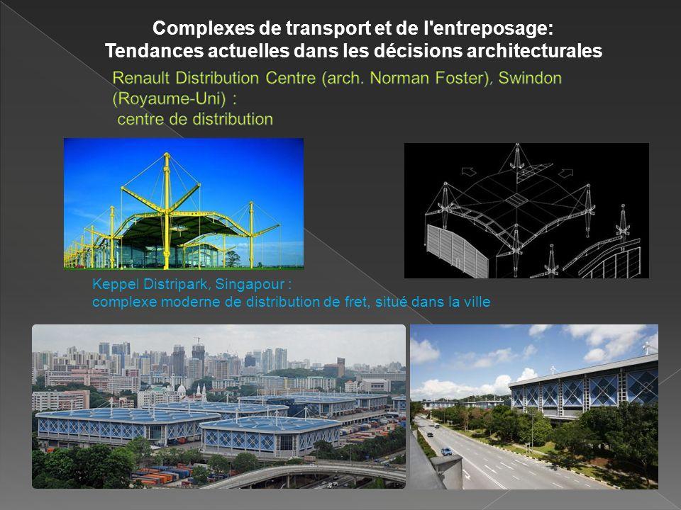 Complexes de transport et de l entreposage: