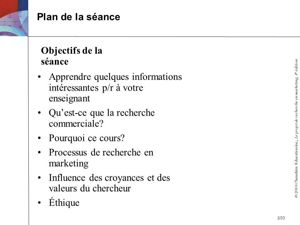 Plan de la séance Objectifs de la séance. Apprendre quelques informations intéressantes p/r à votre enseignant.