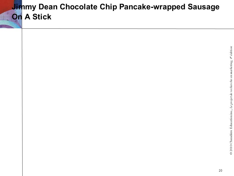 Jimmy Dean Chocolate Chip Pancake-wrapped Sausage On A Stick