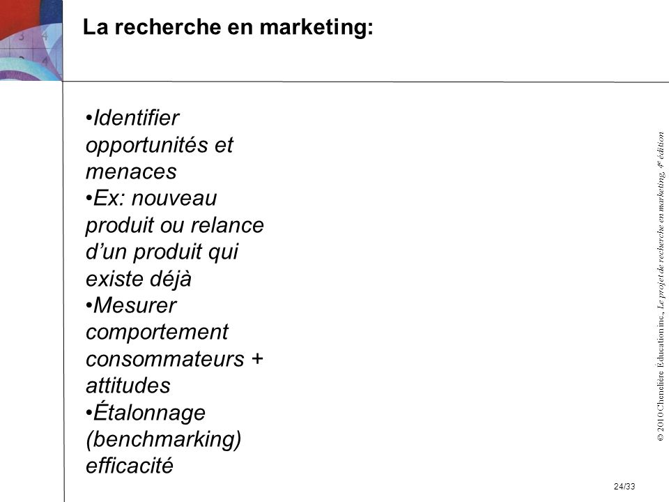 La recherche en marketing: