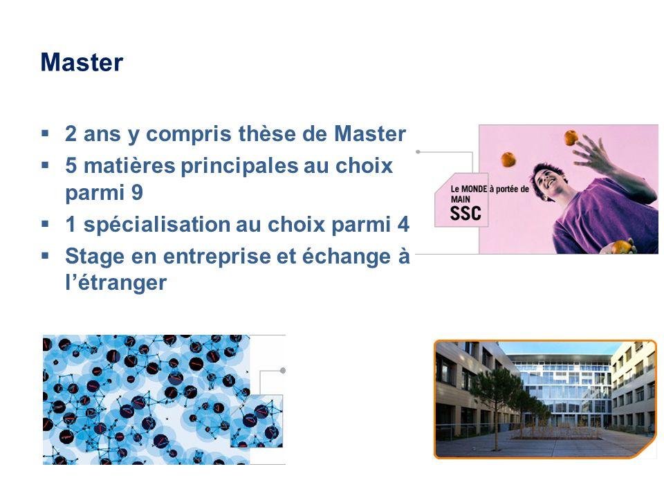 Master 2 ans y compris thèse de Master