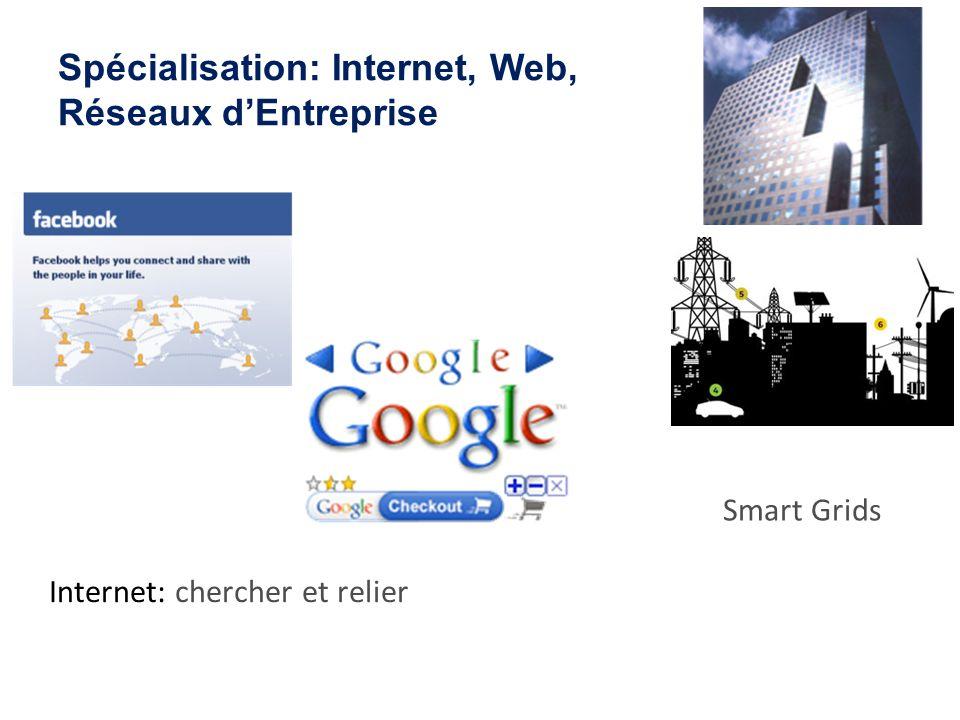 Spécialisation: Internet, Web, Réseaux d'Entreprise