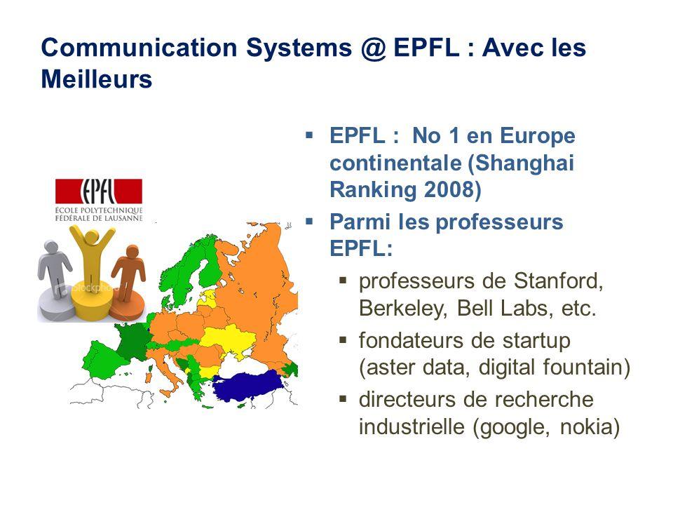 Communication Systems @ EPFL : Avec les Meilleurs