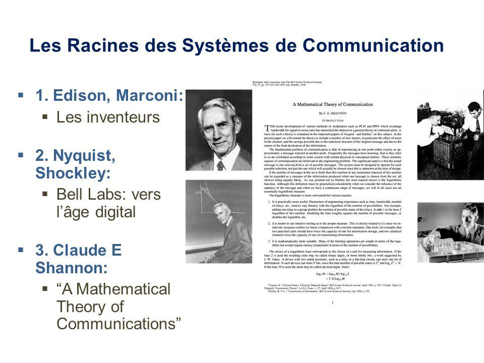 Les Racines des Systèmes de Communication