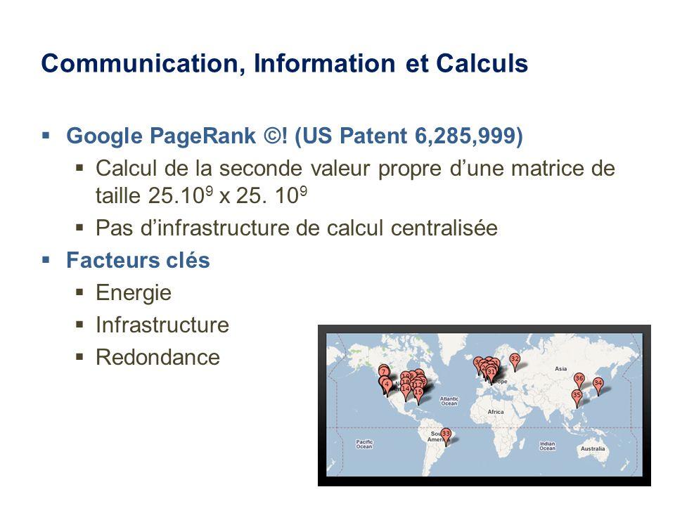 Communication, Information et Calculs