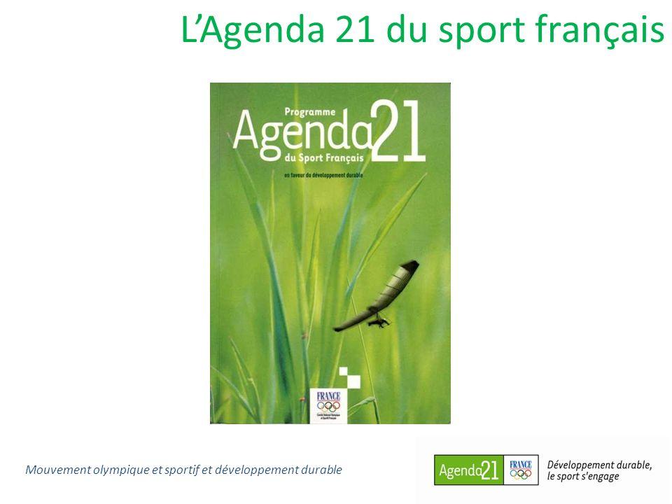 L'Agenda 21 du sport français