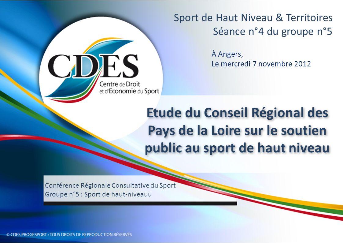 Sport de Haut Niveau & Territoires