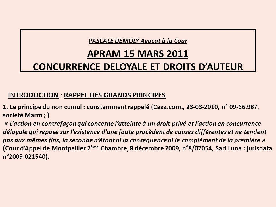 INTRODUCTION : RAPPEL DES GRANDS PRINCIPES