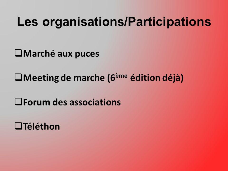 Les organisations/Participations