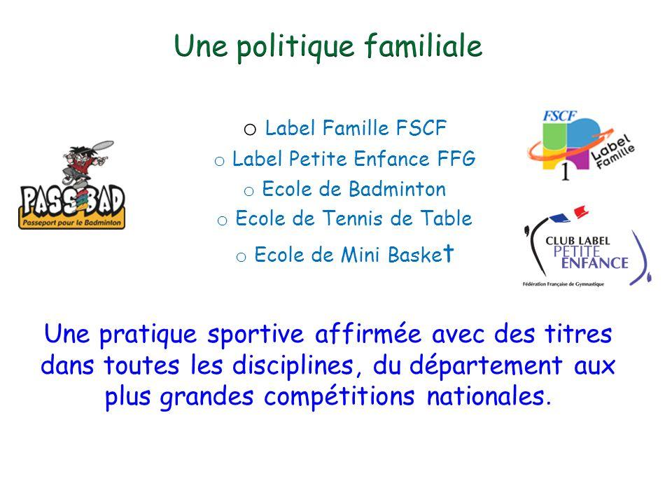 Une politique familiale