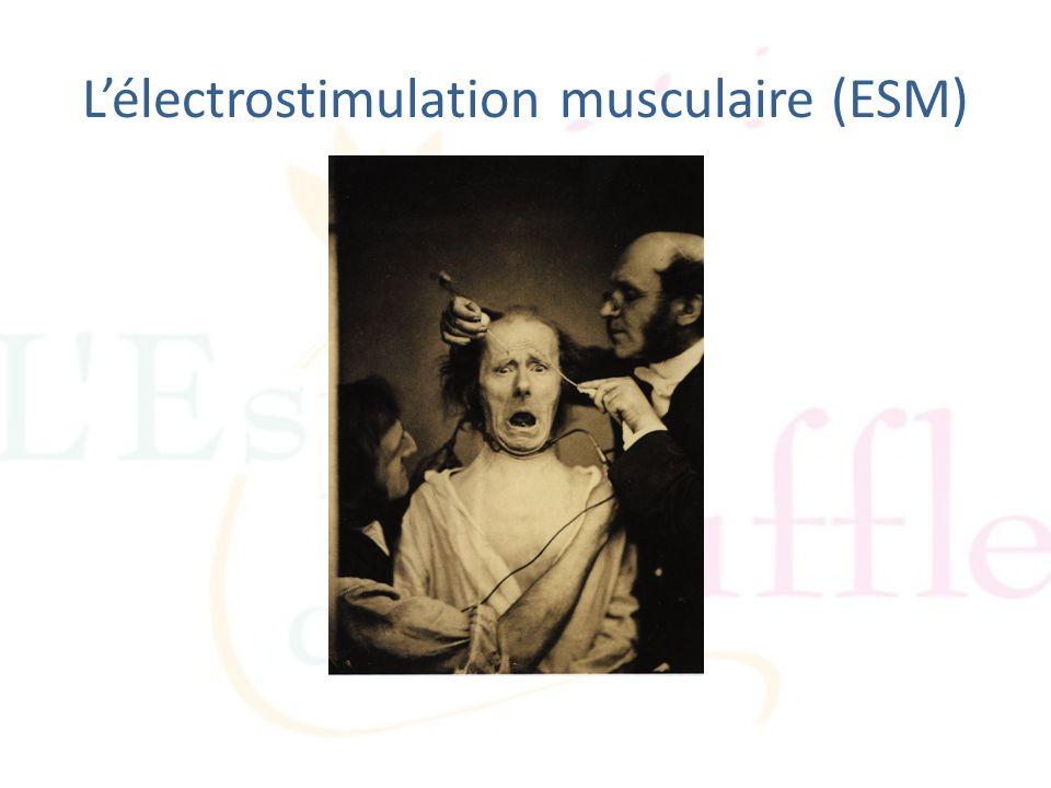 L'électrostimulation musculaire (ESM)