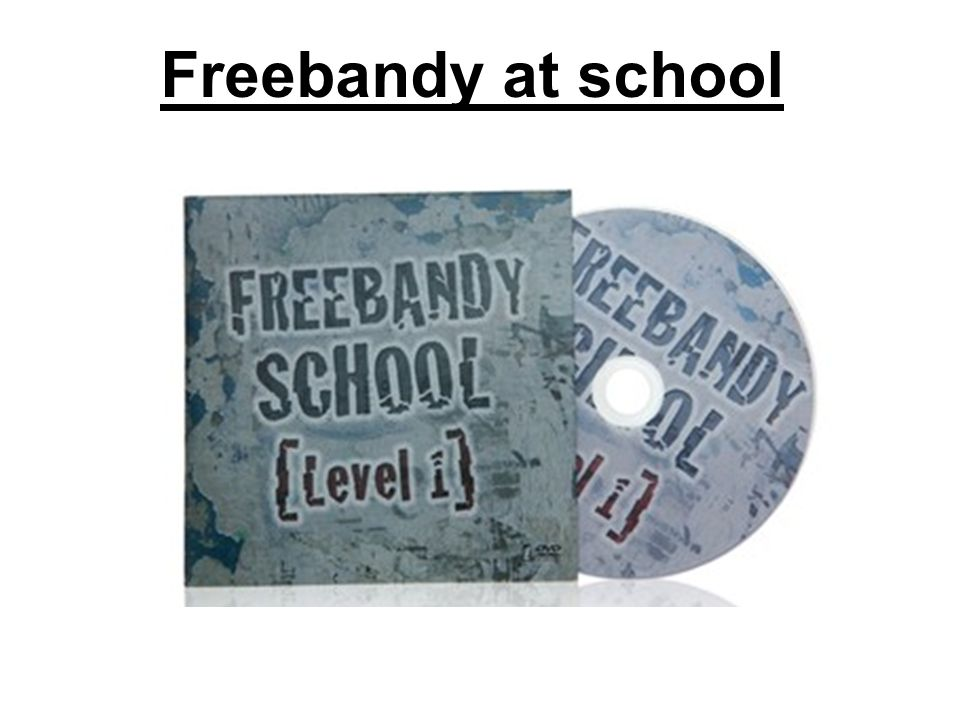 Freebandy at school