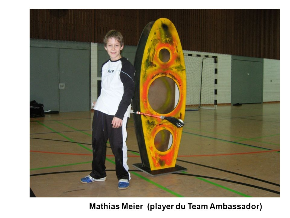 Mathias Meier (player du Team Ambassador)