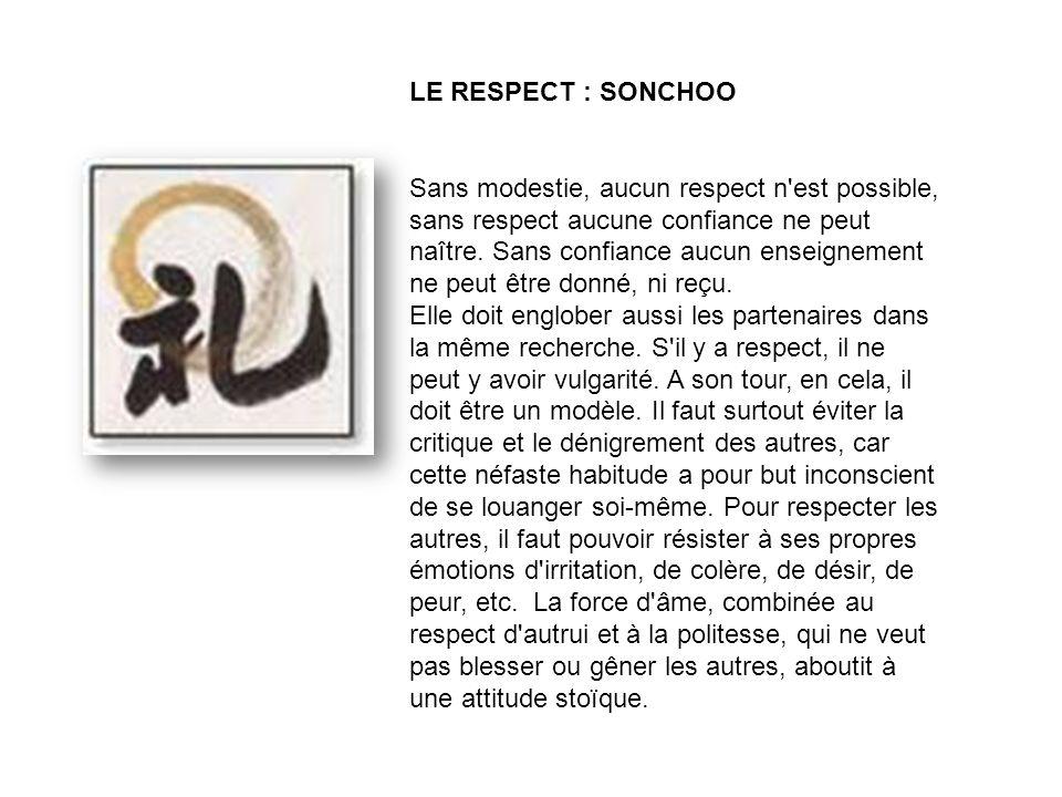 LE RESPECT : SONCHOO